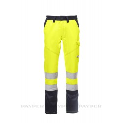 Pantalone Payper Charter Winter GIALLO FLUO/BLU NAVY