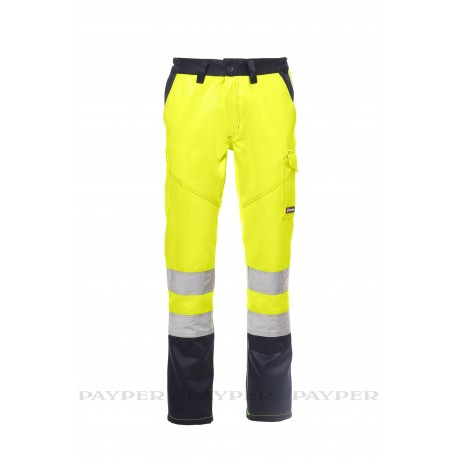 Pantalone Payper Charter Winter GIALLO FLUO/BLU NAVY