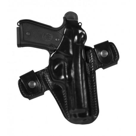 Vega Holster Fondina in cuoio sformato per arma corta cod. FS1