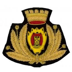 Sicur.an Fregio berretto polizia locale e municipale Personalizzabile