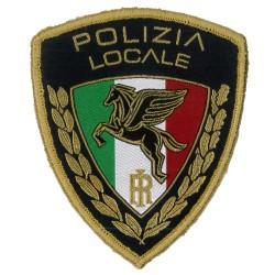 Sicur.an Scudetto Pegaso formato 3d in alta definizione Polizia locale e municipale