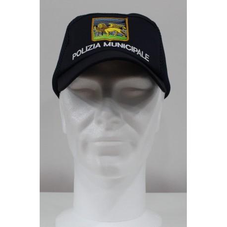Sicur.an Berretto operativo polizia municipale personalizzabile